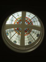 Britomart Stained Glass by akiwi