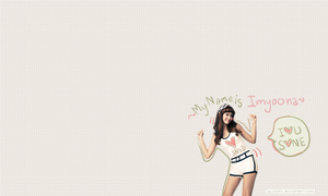 wallpaper - imyoona by iquixotic