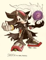 No.14 Shadow the Tenrec by NextGrandcross