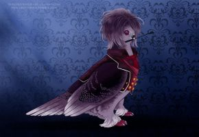 Sadistic Pigeon by TheCuriousFool