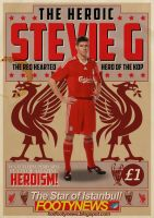 Stevie G by theblastedfrench