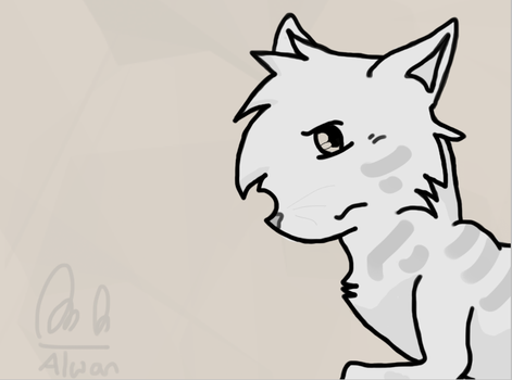 Warrior Cat by FancyCocoa