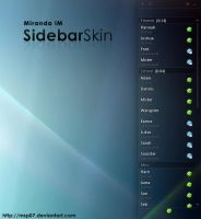 Sidebar Skin by MSP07