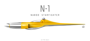 Naboo N-1 Starfighter by fighterman35