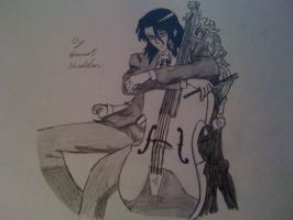 Hagi with his Cello from Blood Plus by captonstu