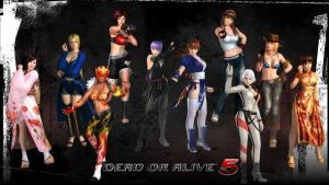 Dead or Alive 5 Girls by seraphimax