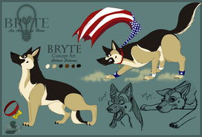 Bryte Concept Art by Imaje-Train