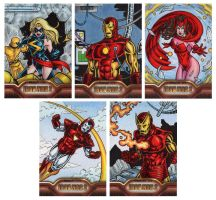 Iron Man 2 Sketch Cards F by tonyperna