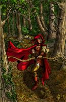 Red Riding Robin Hood Shadow Variant by MichaelHoweArts