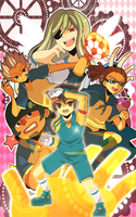 +INAZUMA 11 - THE CRUSADE OF GODS+ by Yuki-Chan2