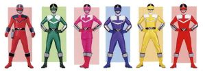 Time Force Power Rangers by planeteer1988