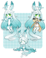 Bunny adopt auction - closed by Mousu