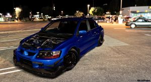 Mitsu Evo 8 by thedesign05