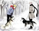 APH: RUUS dogs by waterylt