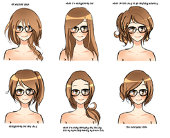 MAYMIE'S HAIRSTYLES by pepperlicious