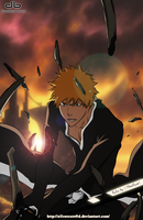 Bleach 428 - Cover in color by SilverCore94