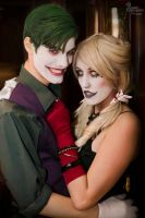 Joker x Harley I by EnchantedCupcake