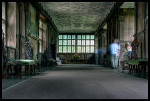 Long Gallery Ghosts by Megglles