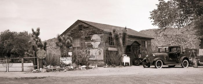 Route 66 - Ford 1928 Model A - Panorama by HansPeterKolb