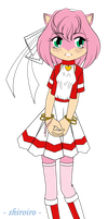 -shiroiro- Amy Rose by AnimaGirlDaria-chan