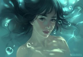 underwater by sharandula