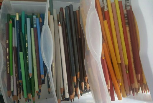 Prismacolor Pencil Collection by Zalcoti