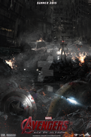 Avengers: Age of Ultron (FAN MADE) Teaser Poster by DiamondDesignHD