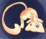 Playful little Mew by Baunily