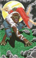 The wolfman by vermithrax40