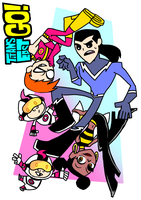 ALL-NEW TEEN TITANS EAST GO! by KATANO-KS