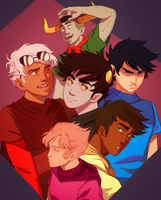 The boys! by Solvernia