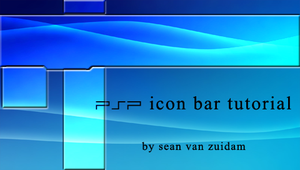 PSP icon bar tutorial by GrimLink