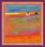 Horse Riding on the Beach by fmr0