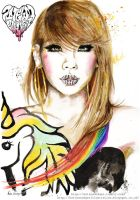 2NE1 New Evolution- CL by Katie-Woodger