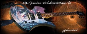 guitar by priesteres-stock