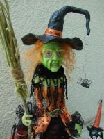 Trick or Treat, Baby - Closeup by LabyrinthCreations