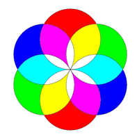 colorized-circle-flower by 10binary
