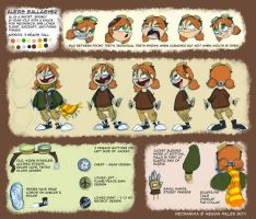 Alex Model Sheet by Robo-Shark