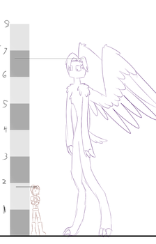 Normal Jesse-Ender Jesse Height Comparison by Rhi-The-Hybrid