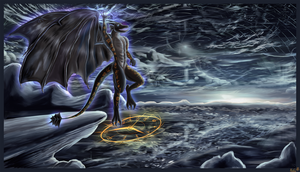 Seraphis ~ Power of Time (Silverized, Resized) by AzureParagon