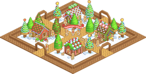 Pixel-Gingerville by firstfear