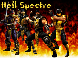 Scorpion - Hell Spectre by IamSubZero