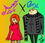 Despicable Me: Gru and Anabeth by Flipside-Artist