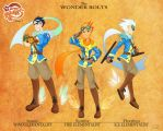 My Little Mages: The Wonderbolts by Didj