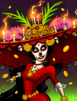The Book of Life - La Muerte by Dr-Borous