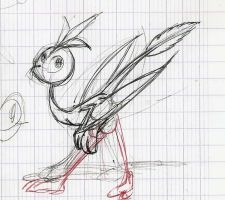 Creature Sketch by MrVava63
