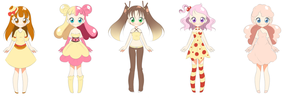 Sweet Adoptables AUCTION by Amai--Kiss