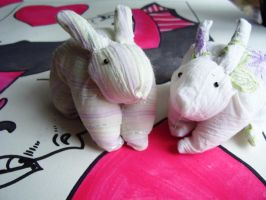 White Rabbits by themagpiesnest