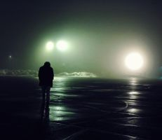 fog parking lot by foryoutoknowtice