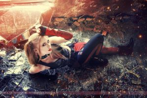 Harley Quinn - Batman: Arkham City - DC Comics by WhiteLemon